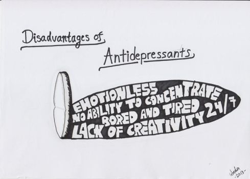 Disadvantages of Antidepressants by It-is-Madness