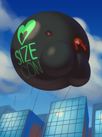 'SizeCon Blimp' by Opik Oort! by SizeCon
