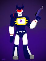 Soundwave G1 by NeonVioletOwl