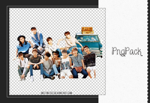 SEVENTEEN PNG PACK 04 By Weiting1122 by weiting1122