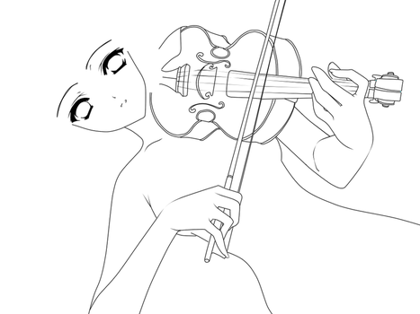 Base: Violin by BlueberryBases