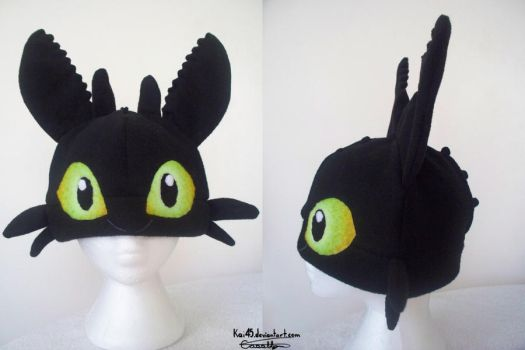 Toothless Hat - $85 by Kai45