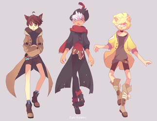 Humanoid adopts 7 set price (CLOSED) by Epic-Soldier