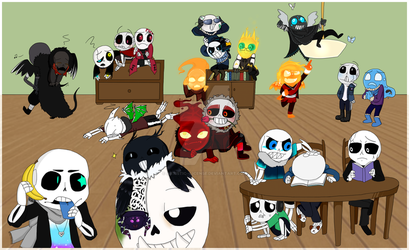Chibi Chatroom by Artistic--License