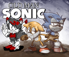 Old Man Sonic by thegreatrouge