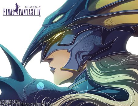 Final Fantasy IV- Kain by HeavyMetalHanzo