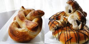 Home-made Pretzels by cakecrumbs