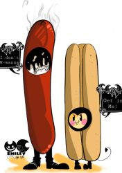 sausage party by BendySmileyDemon