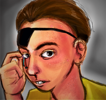 [RM] Realistic Evil Morty by Cainmak