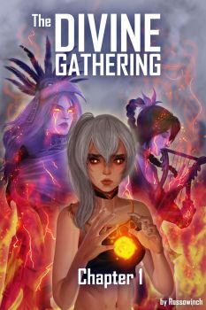 The Divine Gathering #1 Cover Art by RossoWinch