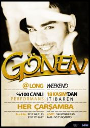 LongWeekend Gonen Flyer by ehlikeyif