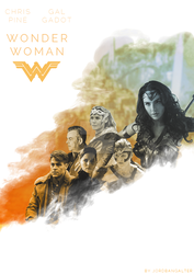 Wonder Woman - Poster 1 by TomaBangalter