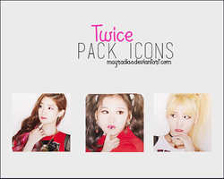 TWICE Icons by mayradias