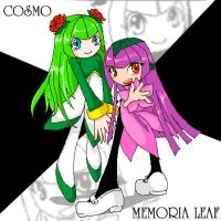 Cosmo and Memoria Leaf by Allisaer