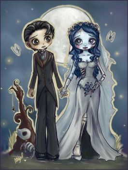 the Corpse Bride by StarMasayume