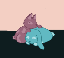 Cuddle Bunnies by Raikua