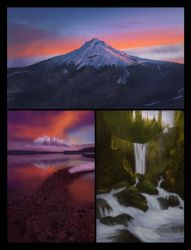 Landscape Thumbnail Studies 6 Day #132 by AngelGanev