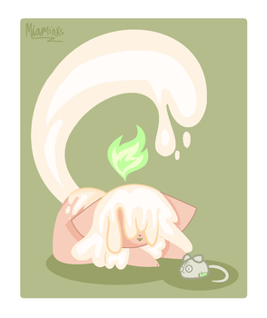 ~Candle Cat~ by MiaMinks