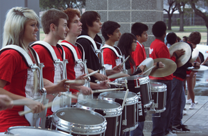 Drumline Smiles by harrismcgee