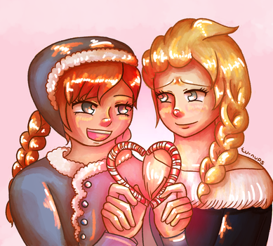 Candy Canes by AnimeInMyPocket
