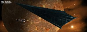 Spirals of Tomorrow: The Ship from the Long Night by Colourbrand