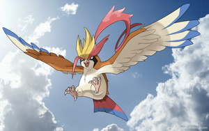 Mega Pidgeot by nganlamsong