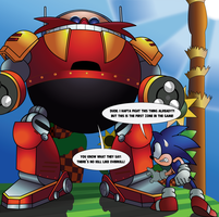 The Death Egg Robot? In Green Hill Zone?! by THE-Julian-Cabrera