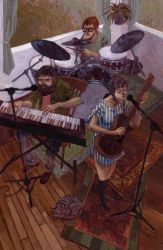 Band Practice by Biffno