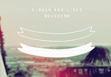 Ribbon and Lines brushes by tutorialeslali