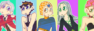 Vento Aureo by Artist-squared