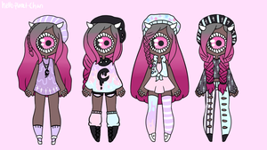[Outfit Set] - cthonicsquid by hello-planet-chan