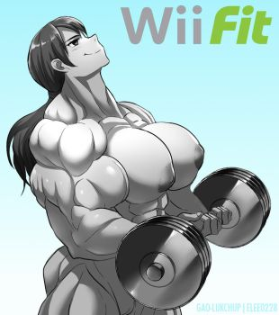 Wii Fit Trainer Nude by elee0228