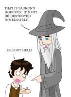 Finding HP in LOTR by Disneyfreak007