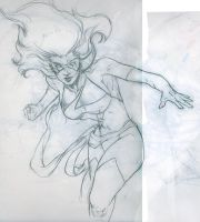 Ms.Marvel sketch by Wintis