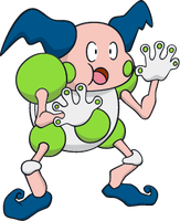 Shiny Mr. Mime Dream World Art by TrainerParshen