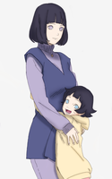 Hinata and Himawari Boruto Next Generation by AiKawaiiChan
