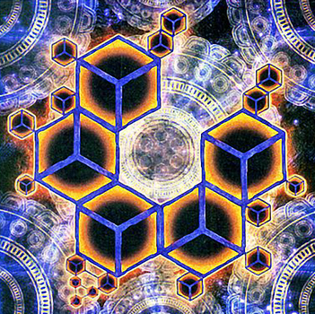 Cubic Mandala by Youssef-Mamdouh