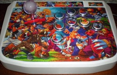 Capcom Fighters Arcade Stick by K1TSCHY
