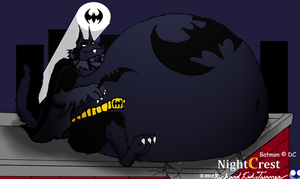 Big Bad fatty were: Batman by NightCrestComics