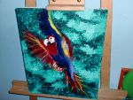 macaw by Laurykachan