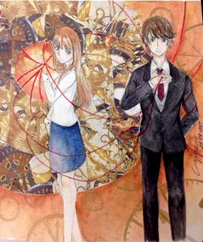 The red string by SophieLee2000