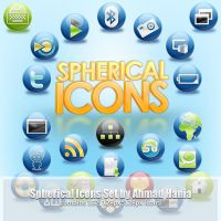The Spherical Icon Set by ahmadhania