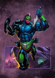 Trapjaw coloured by spidermanfan2099