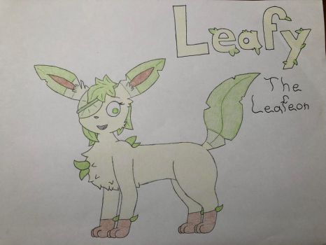 She's a Leafy one by Glacie-the-Glaceon
