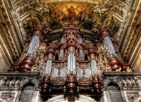 Berlin Cathedral - Inside 2 by pingallery
