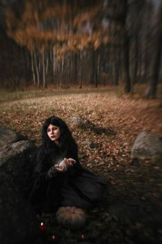 Forest witch. by Verrett