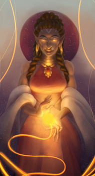 The Goddess of the Suns by VlKTCR
