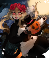 ITS HALLOWEEN MONTH!! by MysteryTian