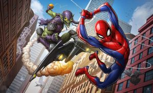 Spider-man the animated series by PatrickBrown