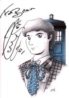 Sixth Doctor by drakefenwick